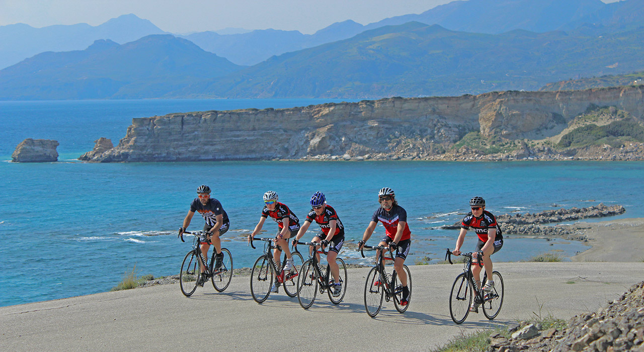 Agia Galini crete cycling